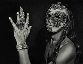 Venetian Mask by Mysterii-Art