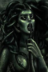 Gorgon by Mysterii-Art