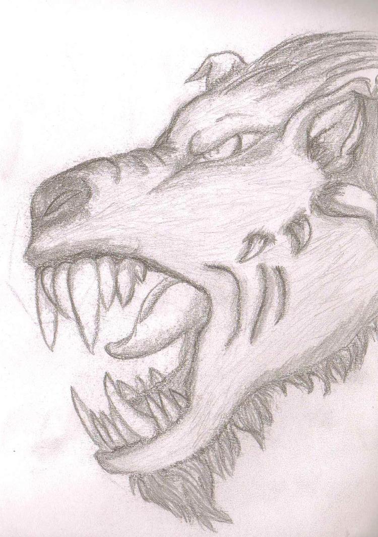 Demon Pencil Sketch by furgie56 on DeviantArt