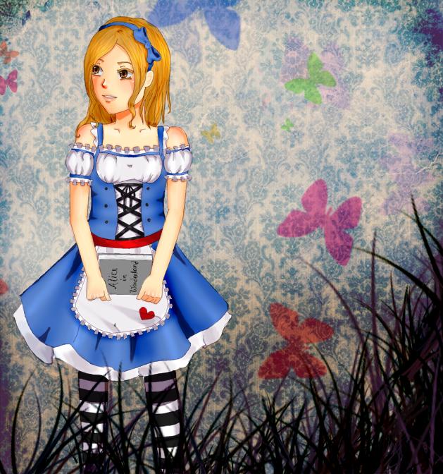 2010 Throwback: Jessica in Wonderland