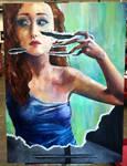 Unself Portrait by sweetlikestevie