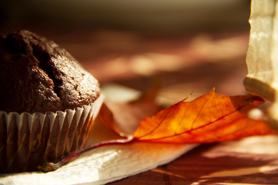 Chocolate banana muffin I by faithkata