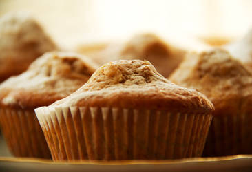 Apple muffins with cinnamon and honey III by faithkata