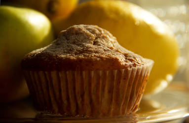 Apple muffins with cinnamon and honey VI by faithkata
