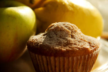 Apple muffins with cinnamon and honey VII by faithkata