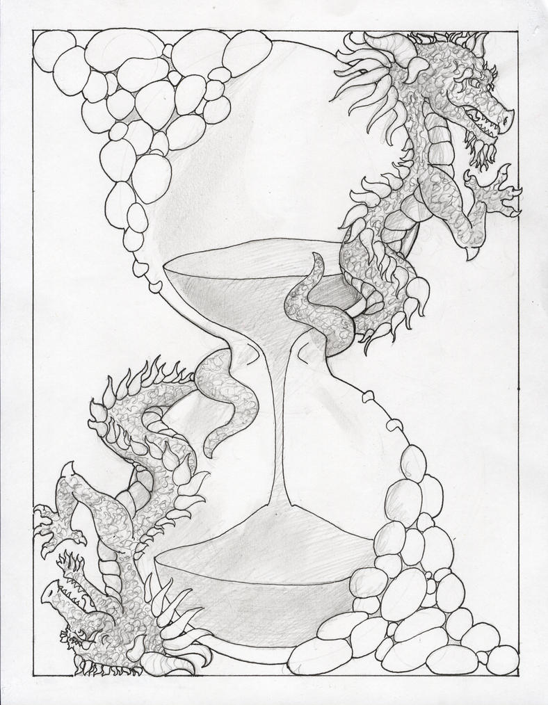Hourglass Pencil Drawings Images  amp  Pictures - Becuo