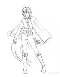 Laurent - costume 2 pencils by DarkPanthra