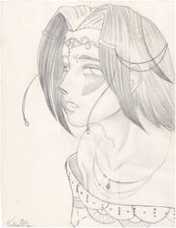 Saevel ceremonial attire 2 by DarkPanthra