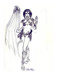 Dracaena Lady by DarkPanthra