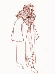 Saevel in Winter Robes by DarkPanthra