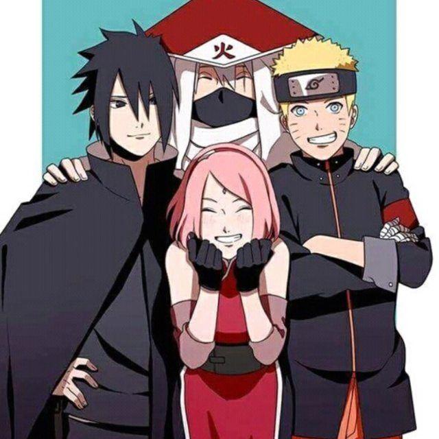Team 7 Kakashi Naruto Sasuke Sakura By Kyleminatohokage On Deviantart