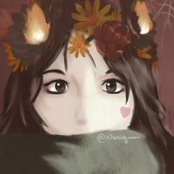 Portrait by noragmon
