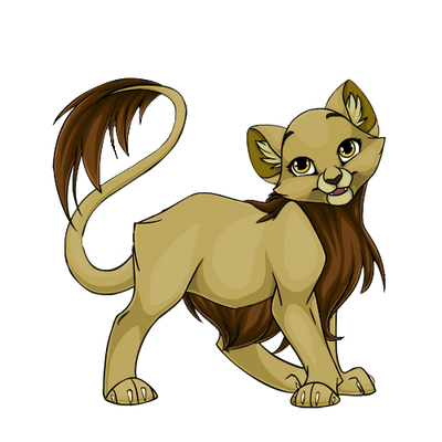 cattus female lion project mockup by KilynnTor
