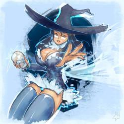 Winter Witch by Mazzacho