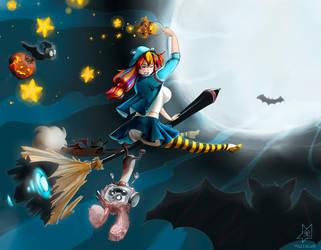 Halloween Mascote by Mazzacho by Mazzacho