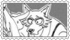 Legosi X Haru stamp by SumacTree