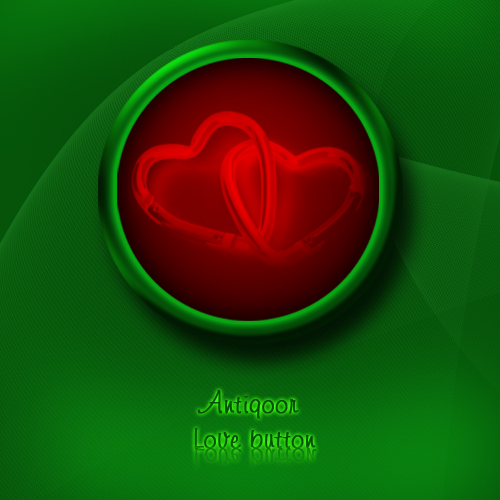 Love button  - by antiQoor