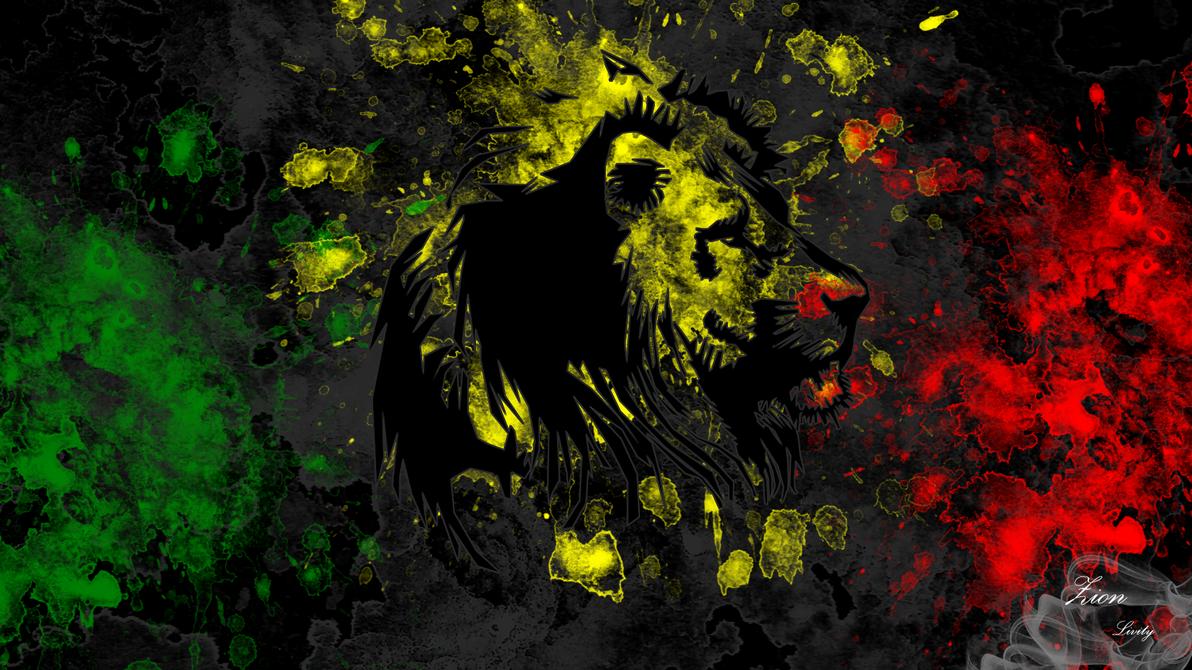 Reggae lion wallpaper by ZIONLivityRasta Smoke Lion Wallpaper