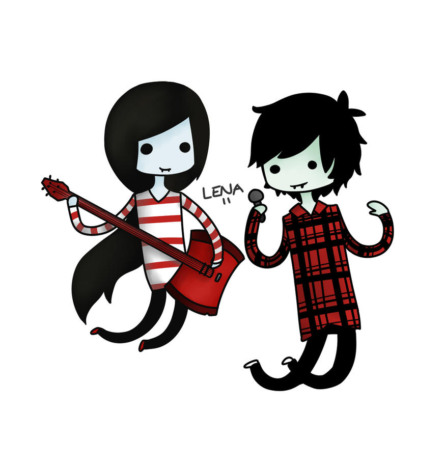Marceline And Marshall Lee By Lenaachan