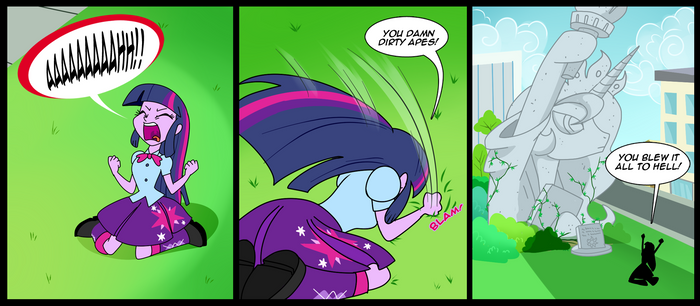 Rise of The Planet of Equestria Girls by RAVE-IX