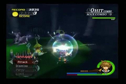 Kingdom Hearts II Chicken Little Summon by AncientWisemon
