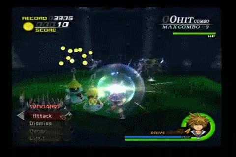 Kingdom Hearts II Genie Summon by AncientWisemon