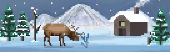 Winter Sprite Landscape by Shipahn