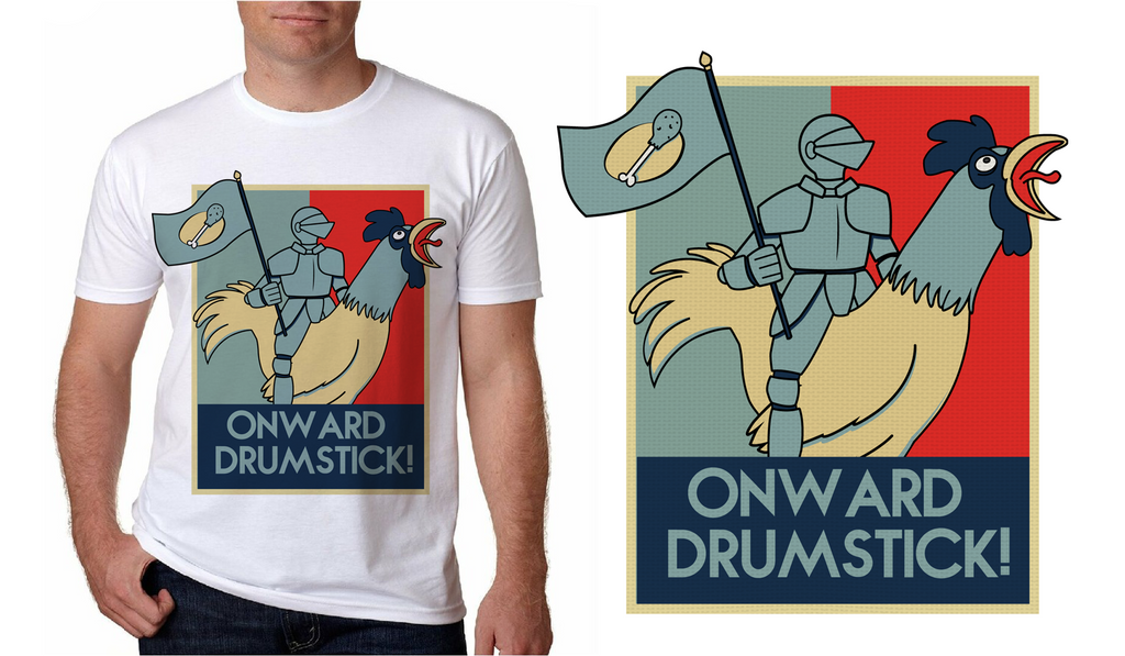 Onward Drumstick! by Shipahn