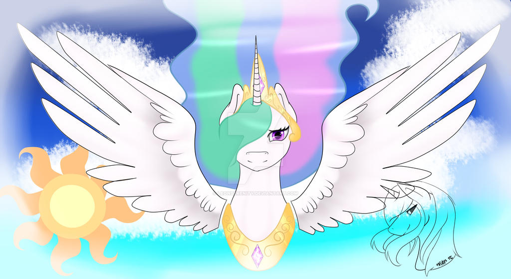 Princess Celestia by LeonSerenity