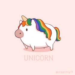 Unicorn by PiggyDog13