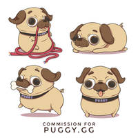Pugs [Commission]