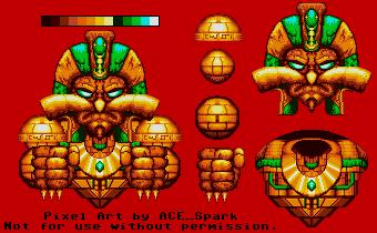 Robotnikhotep - Sonic 3 Style by ACE-Spark