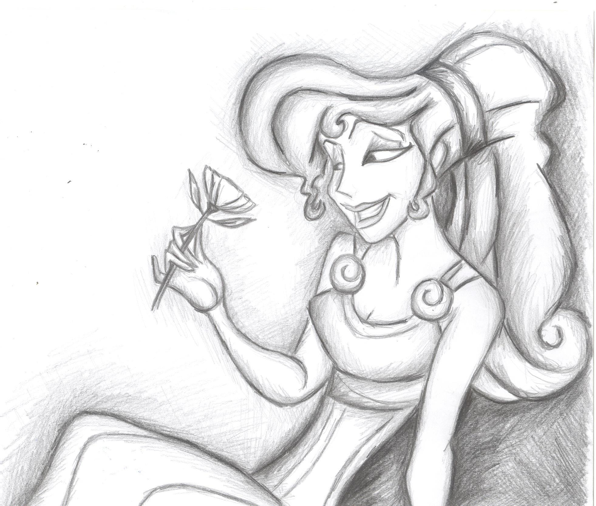 Megara from Disney's Hercules by AlwaysSlightlyHazy