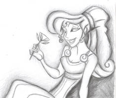 Megara from Disney's Hercules by AlwaysSlightlyHazy
