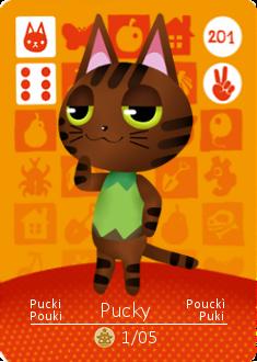 Pucki Amiibo Card by Feubrunee