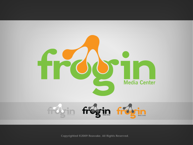Frogin Media Center Logo by Reawake
