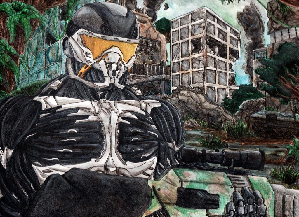 Crysis 3 By Huzuro-sama On DeviantART