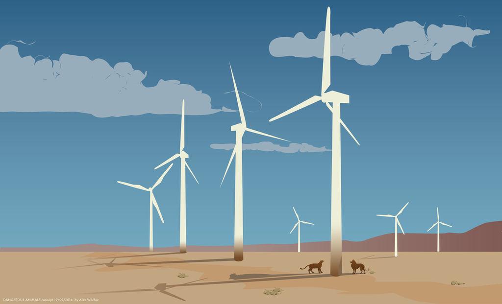 Windmills by Wilchur