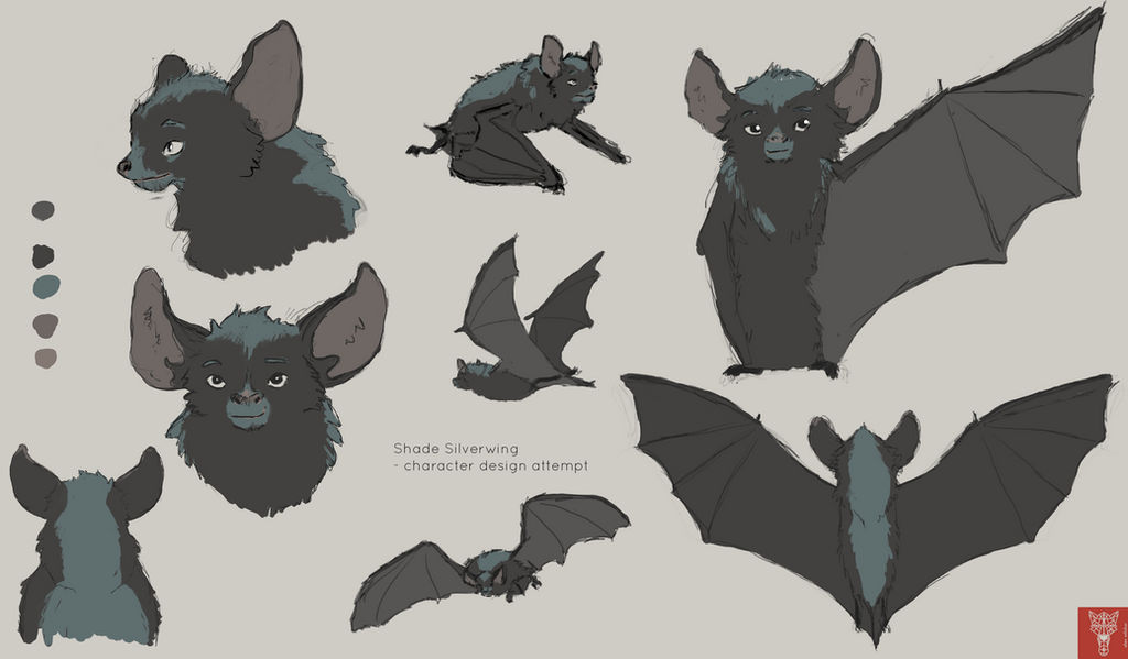 Shade Silverwing Bat Character Design Attempt By Wilchur