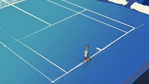 Tennis is a lonely game