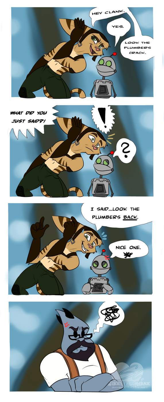 Look, the plumbers back. by JinxytheLombax