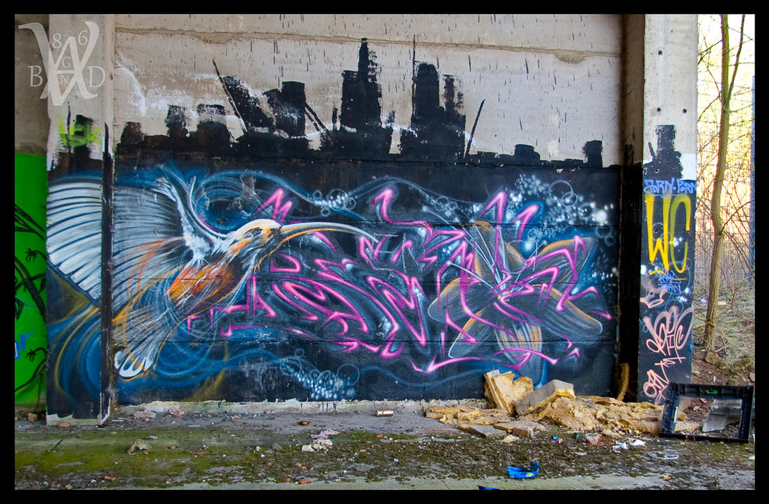 .... Graffiti III .... by Vagabund86