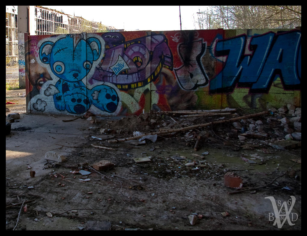 .... Graffiti II .... by Vagabund86