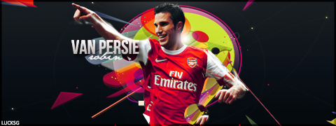 Robin Van Persie//LuckSG by LuckGraphic