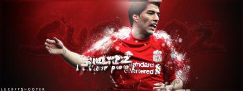 Luis Suarez/Luck feat Shooter by LuckGraphic