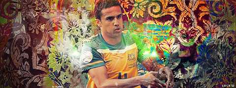 TIM CAHILL//LUCK by LuckGraphic