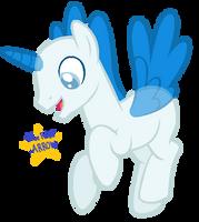 Stallion Pegasus Base by BlueRoseARROW