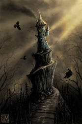 The Raven's Tower by jerry8448
