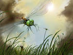 Riding The Dragonfly