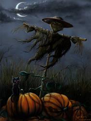 Halloween Pumpkin Patch by jerry8448